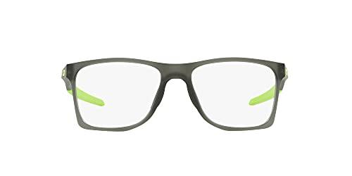 Oakley Activate Gafas, Satin Grey Smoke, Standard Unisexo