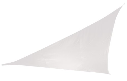 Doppler 493408808 Sonnensegel Alupro Dreieck 5 x 5 x 5 m, weiss