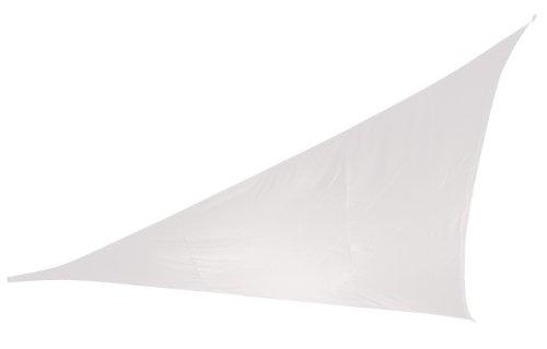 Doppler 492408808 Sonnensegel Alupro Dreieck 3.6 x 3.6 x 3.6 m, weiss