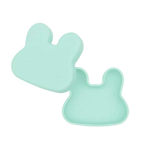 Petite boîte à goûter Lapin vert menthe - We might be tiny