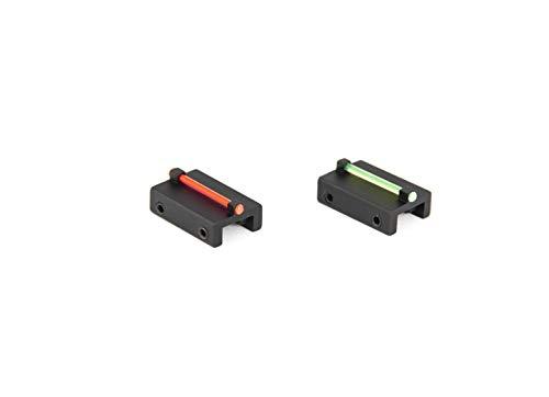Toni system cod. MR8/MV8 Punto mira Fibra optica para Banda Escopeta ø1,5mm Rojo/Verde (Rojo)