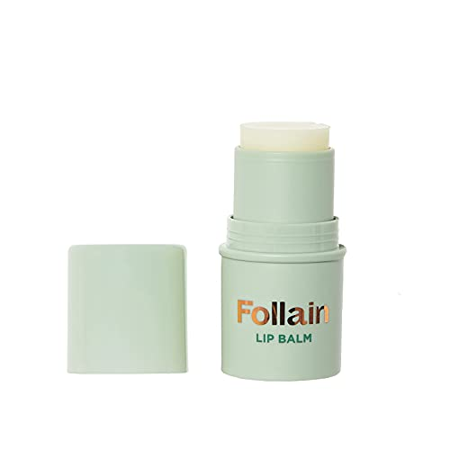 Follain Lip Balm | Moisturizing with Vitamin E, Shea Butter, Argan Oil, Soften, Repair and Protect Dry, Chapped & Cracked Lips For Hydration, Nourishing Creamy Texture, Cruelty Free, 0.14 Oz Stick