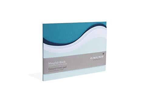 Gmund Papier Notizblock 35 Blatt gestanzt (Mangfallblock A5 14,8 x 21,0 cm)