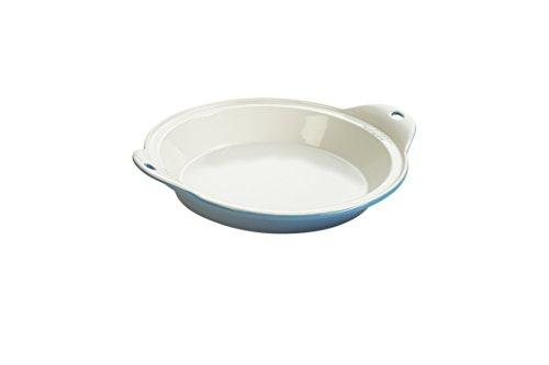 "Lodge STW13RCT13 Stoneware Baking Dish, 9"" x 13"", Oyster White"