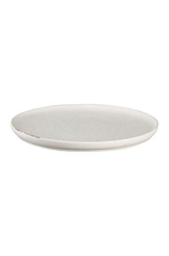 ASA coppa Dessertteller sencha Porzellan 21 cm, Weiß, 19140193