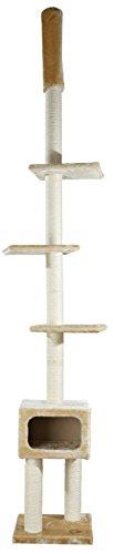 Trixie 43521 Santander Kratzbaum, deckenhoch, 245-275 cm, beige