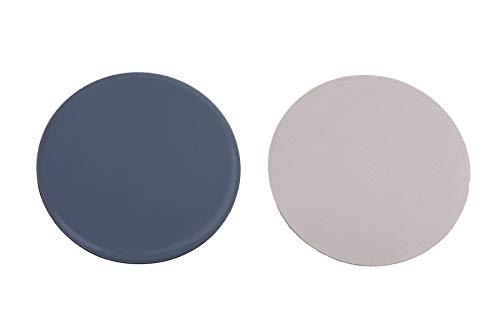 Preisvergleich Produktbild 4 Stück Möbelgleiter Teflon rund,  selbstklebend Ø 50 mm,  Stärke 5mm