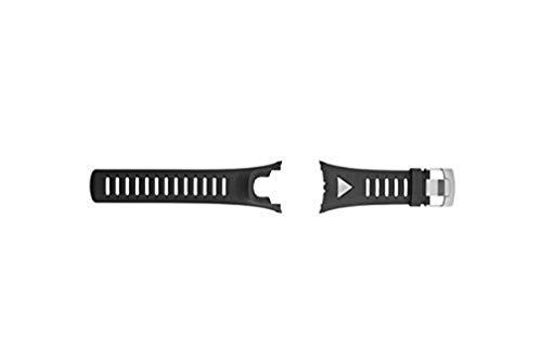 Suunto Ambit Silver Strap - Correa de reloj, color de la correa: negro, color del cierre: plata
