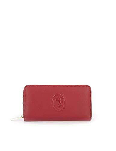 Portafoglio Trussardi Jeans lisbona zip around 75W00246 9Y099999 R280 beet red