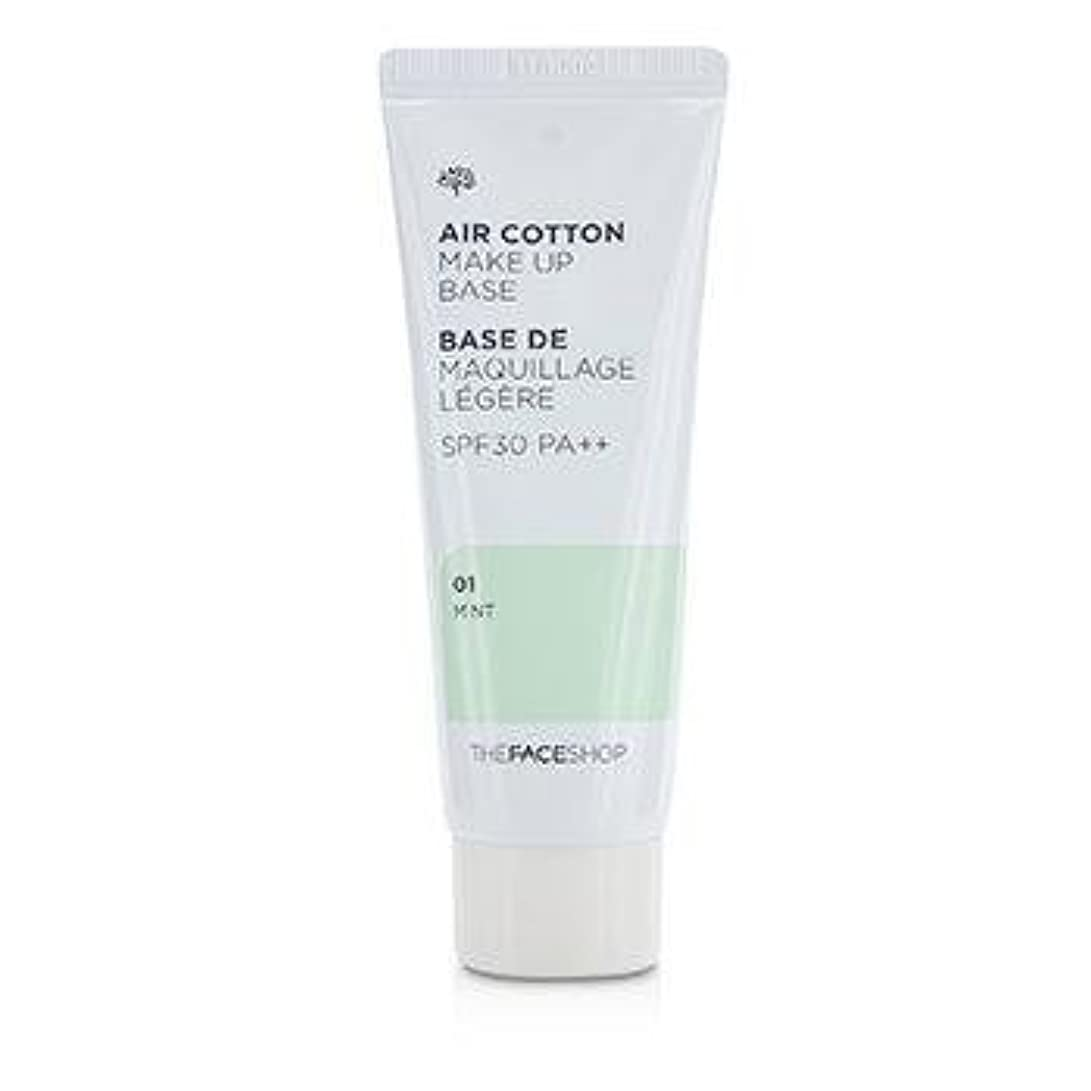 バズ凍った博覧会The Face Shop Air Cotton Make Up Base SPF30/PA++ 40ml #1 Mint