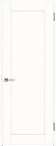 ラシッサS 標準ドア ASTH-LAG 錠付き 0620 W:734mm × H:2,023mm 吊元:左吊元 本体色/枠色:プレシャスホワイト(YY) 枠種類:ノンケーシング156(壁厚:116-130) 沓摺:なし 把手:サークルB 鍵種類:丸型簡易錠