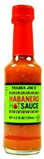 Trader Joe's Habanero Hot Sauce 4.2 Fl oz (Pack of 3)