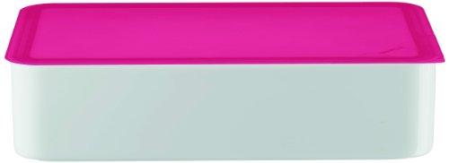 Arzberg Form 3330 Küchenfreunde Frischebox mit Kunsstoffdeckel 15 x 25cm, rosa