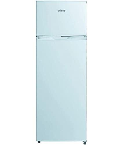 Edesa   Frigorífico Estático   Modelo EFT 1611 WH   Dos Puertas   Altura de 1,60   Frigorífico + Congelador   Capacidad de 135 litros   Iluminación Interior   Clase de Eficiencia Energética F