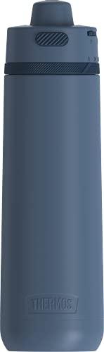 Guardian Collection by THERMOS Garrafa de hidratação de aço inoxidável, 700 ml, ardósia
