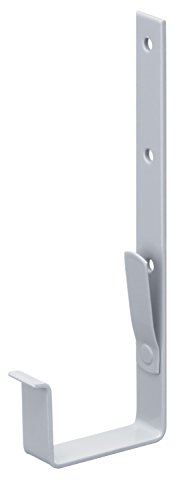 INEFA Giunto per grondaie a casetta grondaie grigio pezzo grondaia grigio per avvitare larghezza nominale 75 mm