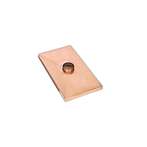 Find Bargain Gelco 1 Hole Copper Chase Cover - 46 x 80