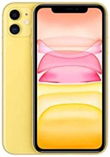 Apple MWNJ2ZA/A iPhone 11 With facetime Physical Dual SIM 4G, LTE, International Version - Yellow, 256 GB