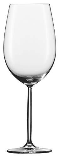 DIVA Schott Zwiesel Bordeaux - Juego de Copas de Vino (6 Unidades, tamaño Grande)