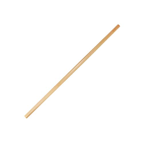 BambooMN 40 Inch Men's Natural Bamboo Goalie Lacrosse Shaft Stick Handle, 2 Pieces