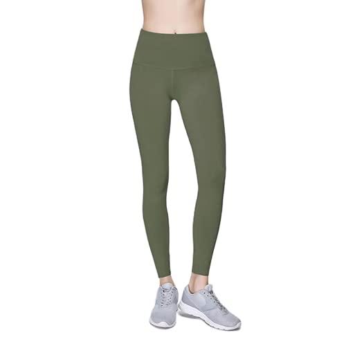 QTJY Pantalones de Yoga Transpirables Ajustados, Deportes de Gimnasia para Correr, Ejercicio físico, Cintura Alta, Medias de Cadera DS