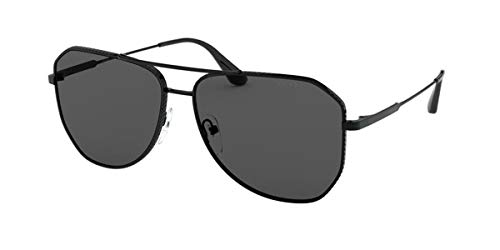 Prada 0PR 63XS Gafas, Negro (, 58 para Hombre