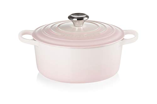 Tacho cocotte 24cm Le Creuset - Shell Pink