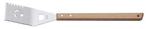 Tramontina churrasco Spatule pour Barbecue à manche Long, acier inoxydable, marron, 12 unités