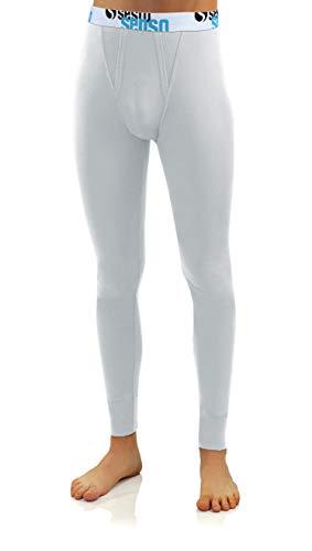 Sesto Senso Męskie długie kalesony bawełniane, bielizna termiczna, bielizna funkcyjna na zimę