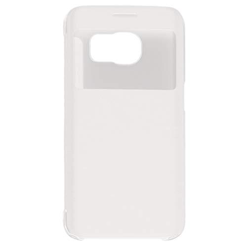 HehiFRlark Funda Protectora con Tapa Inteligente para teléfonos móviles Carcasa Protectora Blanca