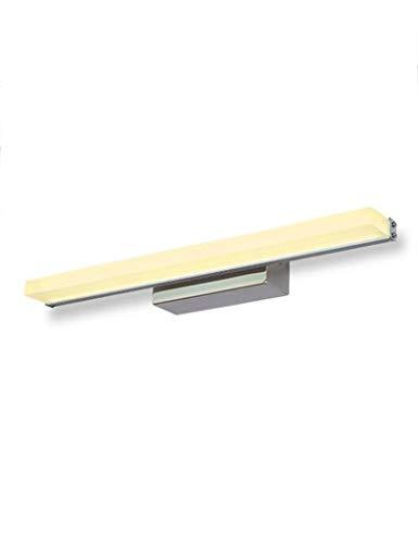 NA hoofdbadkamerspiegel-schijnwerper-geleid aluminium waterdichte en anti-condens-spiegel-front verlicht badkamer-eenvoudige make-up bereider-spiegel kast-licht spiegel voorkant helder
