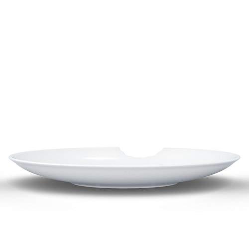 Fiftyeight Teller Set, Porzellan, Weiß, 24 x 24 x 12 cm, 2-Einheiten