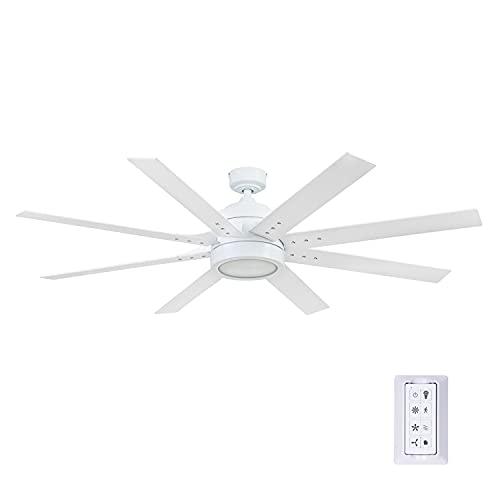 Honeywell Ceiling Fans 51628-01 Xerxes Ceiling Fan, 62, Bright White