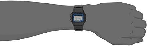 Casio watches Casio Men's Illuminator Quartz Watch with Resin Strap, Black, 18 (Model: EAW-F-105W-1A)