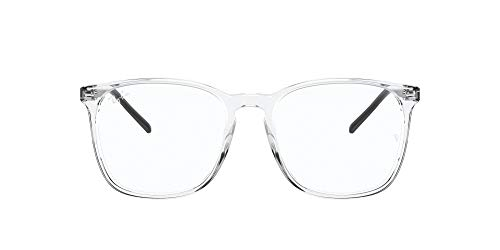 Ray-Ban 0rx5387 Gafas, TRANSPARENT, 52 Unisex