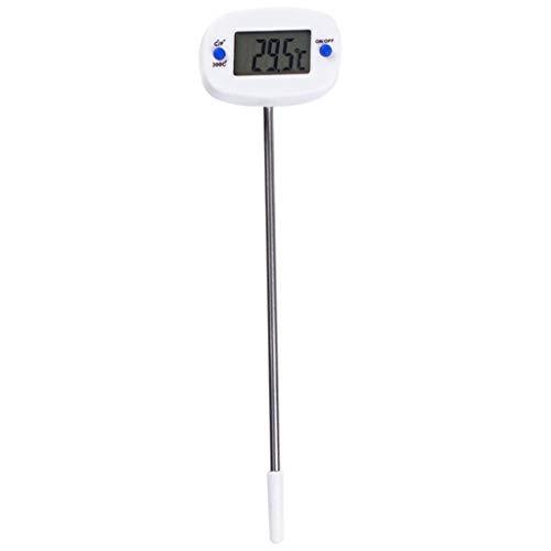 Love lamp Edelstahl-Fühlerthermometer Elektronisches Digitales Temperaturtestgerät Für Flüssige Grillgeräte Instant Read Pocket Kitchen-Thermometer