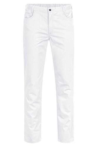 GREIFF Herren Hose Five Pocket| Regular Fit | Cuisine Basic | Style 5321 | Weiß | Gr: 48