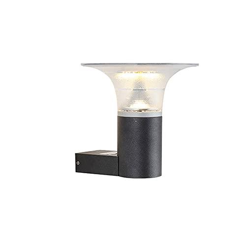 YHQSYKS Aplique Solar LED Lámpara de Reloj de Arena Creativa al Aire Libre Iluminación de Accesorios de Villa de jardín Iluminación Exterior LED Desde el anochecer hasta el Amanecer