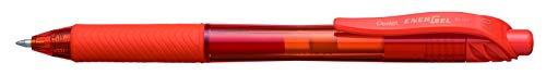 Pentel EnerGel X BL107-FX Gel-Tintenroller, orange, 0,7 mm Strichstärke, Druckmechanik, nachfüllbar