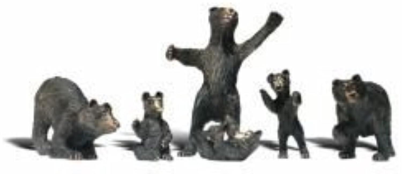 WOODLAND SCENICS A2737 Black Bears O WOOU2737 by Woodland Scenics