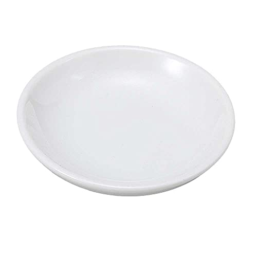 小皿 醤油皿/白バタ皿/刺身 お新香 梅干し 珍味 陶器 業務用 家庭用 Small sized Plate