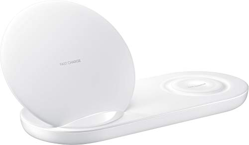 Samsung EP-N6100 Caricabatterie dopia wireless, Bianco
