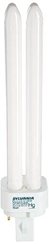 Sylvania (10 Pack) 21114 CF26DD/835/ECO 26-Watt 3500K 2-Pin Double Tube Compact Fluorescent Lamp, White