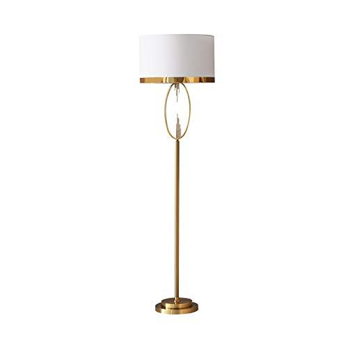 DSM American Floor Lamp Dormitorio Sala de Estar Mesa de Centro Sofá Lámpara de pie de Suelo Diseñador Creativo Lámpara Simple 165 cm (Size : Remote Control)