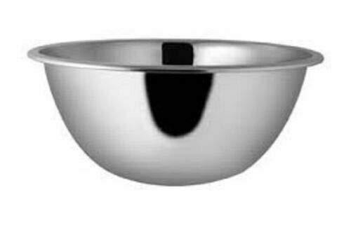 Ciotola per insalata in acciaio inox 297, Acciaio inossidabile, Diameter: 50 cms