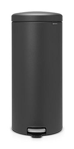 Brabantia Poubelle à Pédale NewIcon Sense of luxury,30 litres - Gris