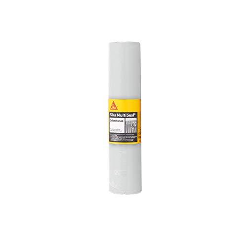 Sika Multiseal Coberturas, Branca, Fita impermeável auto-adesiva para reparos e vedações, 0,45x10 m