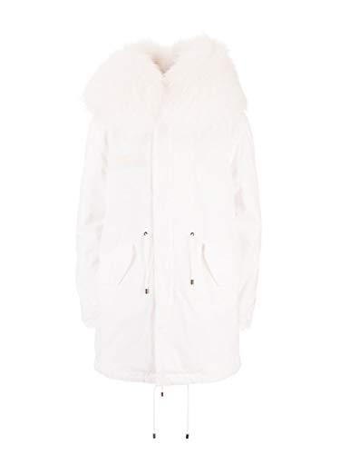 MR&MRS ITALY Luxury Fashion Damen XPM0191123104 Weiss Baumwolle Mantel | Herbst Winter 19