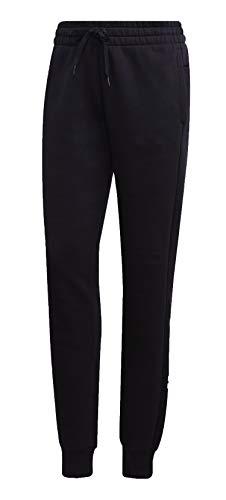 adidas Essential Liniar Pants Women Pantalones de Deporte, Mujer, Negro (Black White), XS