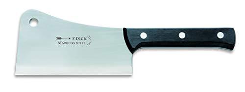 F. DICK Küchenspalter, Spalter (Messer mit Klinge 18 cm, Chrom-Molybdän-Spezialstahl, nichtrostend, Balliger Schliff) 9310018